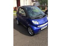 smart city cabriolet 698cc petrol 54 plate 795 bargain no offers swap for van