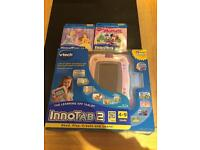 Vtech Innotab 2 with 2 Games