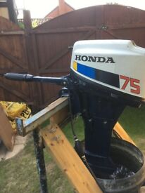 Honda 7.5 4 stroke engine, good working condition