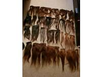 Human hair extensions 100% natural