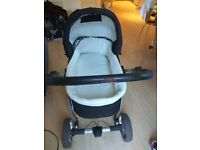 3 in 1 Push Chair with bassinet and car seat for sale