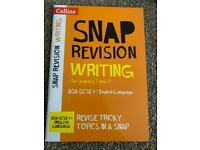 Collins AQA English Language 9-1 Snap Revision Writing for Papers 1 & 2