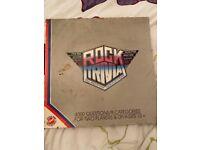 VINTAGE ROCK TRIVIA BOARD GAME