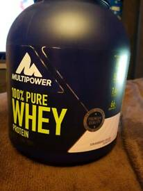 Multipower Pure Protein Whey Strawberry - 75% Full