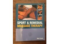 Mel Cash Book - sport & remedial massage therapy book