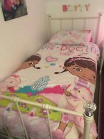 Girl's single bed