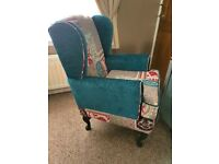 Beautiful Wing back arm chair