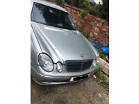 MERCEDES E CLASS 3.0 V6 CDI DIESEL 2005 BREAKING FOR PARTS SPARES AND REPAIRS
