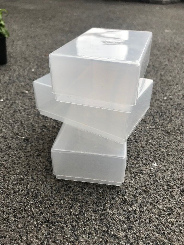 350 plastic boxes suitable for crafts and business cards in 350 plastic boxes suitable for crafts and business cards reheart Image collections