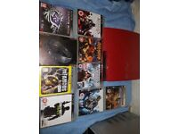 Red PS3 Console Japanese Version 320GB