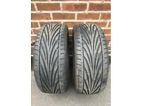 Toyo proxes T1R (pair) 215/45/17