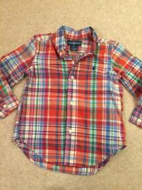 Ralph Lauren Boys Shirt Age 2-3