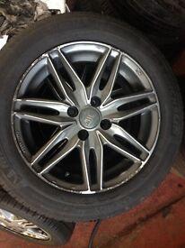 15 inch wheels for Honda