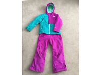 Girls North Face Ski Outfit