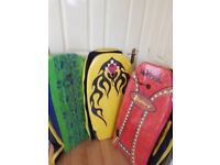 Brand new really good quality body boards with holdalls £25 each