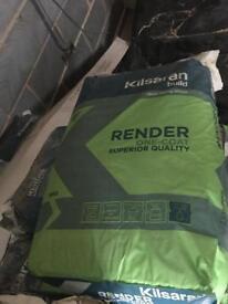 Ivory K Render Topcoat 50 x 25kilo bags