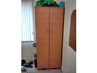 Wardrobe ideal for bedroom/clothes/other storage