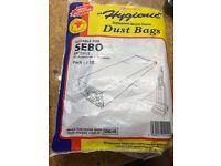 Sebo Vacuum bags x 29