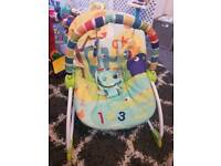Sitting up / laying down baby chair