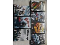 fast and furious 1-7 dvd