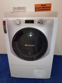 DY103 - Hotpoint Aqualtis 9kg Sensor Dryer with warranty can be delivered or collected