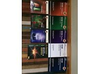 GCSE AQA study books from GCSEs overall books value was over £100