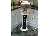 BIORB HALO WHITE 30 LITRE FISH TANK WITH STAND