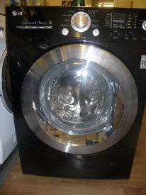 LG Black Washer / Dryer 9 KG Wash + 6KG Dry - All in One