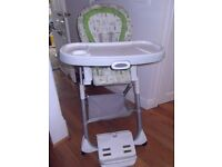 GRACO 2 IN 1 de - tachable Hi Chair £10!