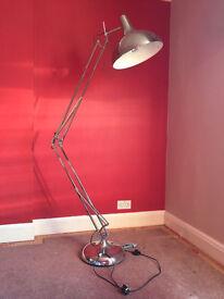 Giant Anglepoise Lamp - chrome