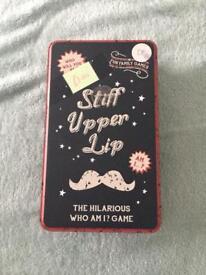 Stiff Upper Lip game