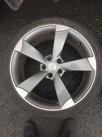 "19"" Audi rotor alloys"