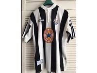 Newcastle United Adidas Shirt Rare Retro Vintage XL