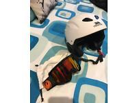 Skiing Helmet & Goggles