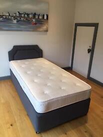 Divan Bed, Headboard and Mattress
