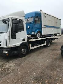 24-7 CHEAP CAR VAN RECOVERY TOW TRUCK TOWING VEHICLE FORKLIFT TRAILER TRANSPORT