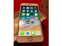Iphone 8 plus unlocked 64gb gold boxed
