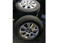 Vauxhall alloy wheels 5 stud