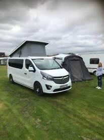 2015 Vauxhall Vivaro campervan only12,000 miles