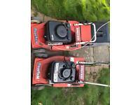 Mountfield mowers x2 electric start