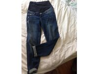 h and m maternity jeans