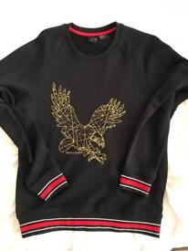 Armani Sweater gold eagle
