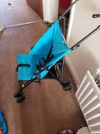 Small simple pushchair