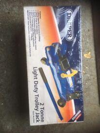 Trolley jack light duty new in box