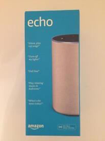 Amazon echo 2nd Generation NEW&sealed