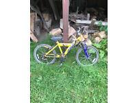 Secondhand children's bicycle
