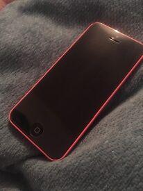 Pink Apple iPhone 5C - 16GB