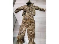 Pro lodgic max camo bib + brace with jacket