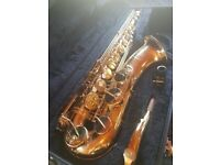 JUPITER 787-789 TENOR SAXOPHONE Fully serviced in march and in excellent condition.