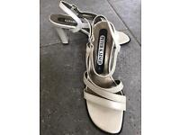 Ladies sling back sandals size 4